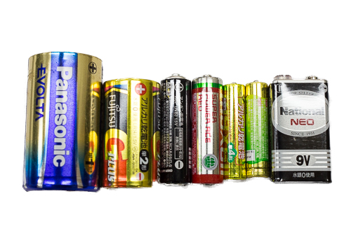 使い捨て電池