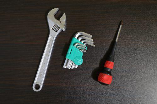 ベッド解体に使用する道具