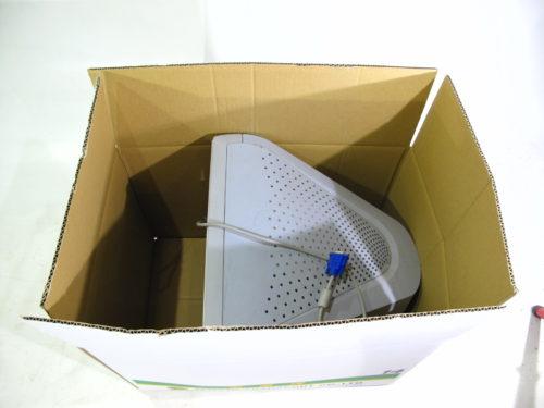 17インチブラウン管17インチブラウン管モニターが制限サイズを超えた例モニターの梱包作業