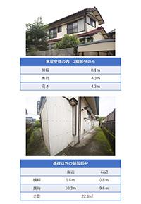 現地調査シート(2階部分・舗装部分)