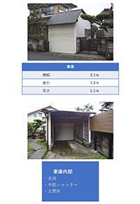 現地調査シート(車庫・車庫内部)