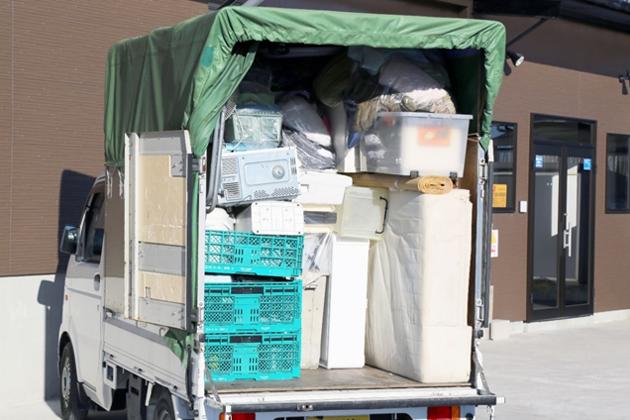 整理のゴダイの荷台積込みの場合