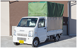 軽トラックプランのトラックの写真